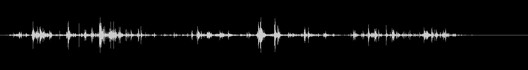 キーホルダーの音7モノラル リバーブの未再生の波形