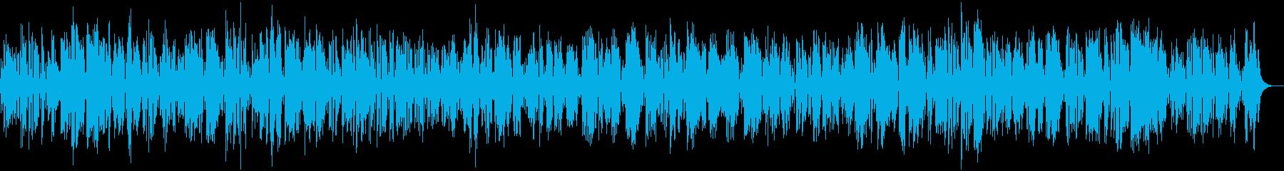 陽気でコミカルなクラリネットジャズバンドの再生済みの波形
