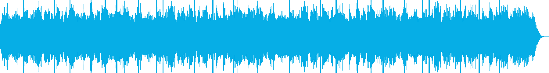 Spooky one scene of horror movie's reproduced waveform