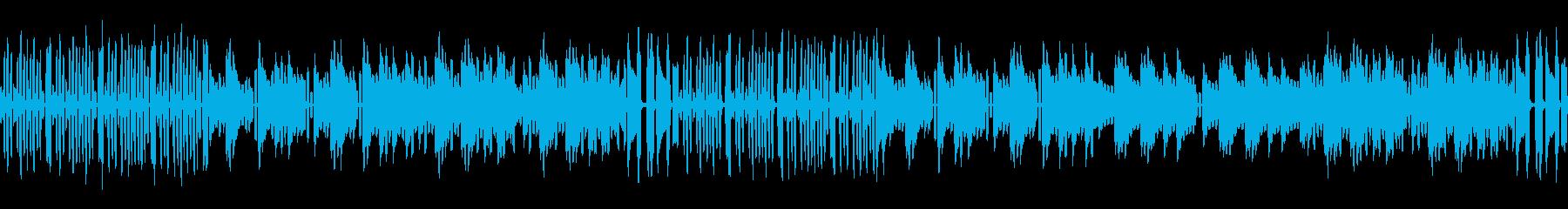 ネオ・8ビットタウンのシンプル版 ループの再生済みの波形