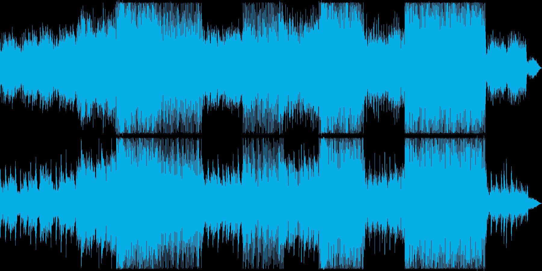 感動シーンに合う力強いサウンドの英語曲の再生済みの波形