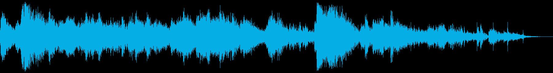 RVキャンパーがヒルサイドダウンで...の再生済みの波形