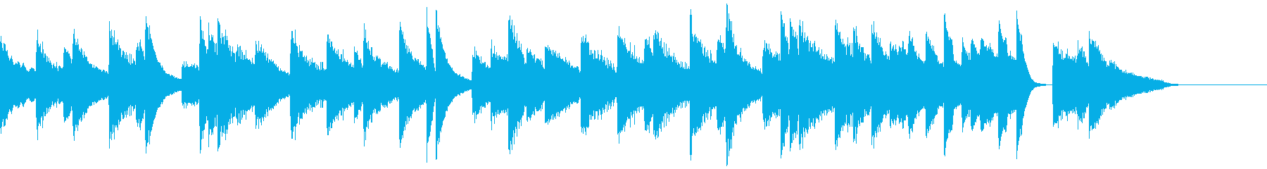 荘厳で気高いクラシカルなピアノジングルの再生済みの波形