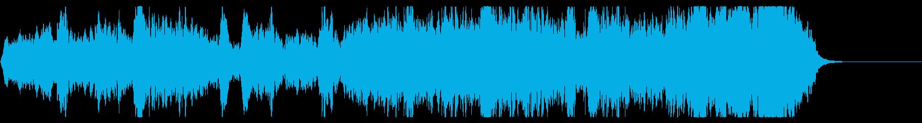 悲しいメロディのクワイアの再生済みの波形