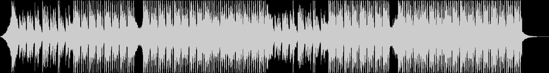 エレクトリックギターとシンセサイザーを備の未再生の波形