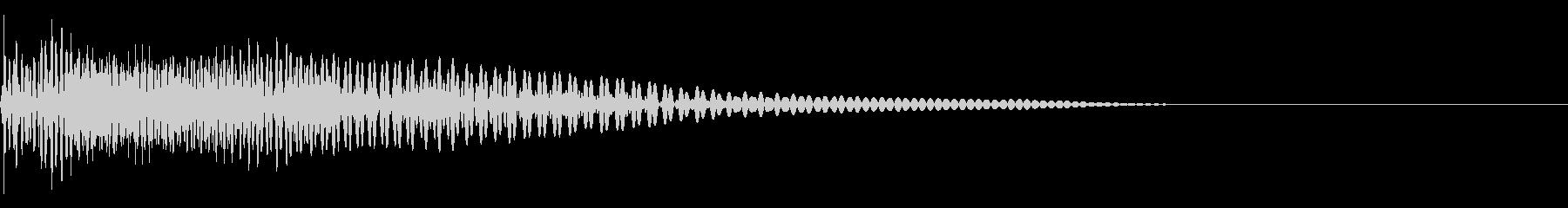 ベース/ドゥーン/ネックスライド/A06の未再生の波形