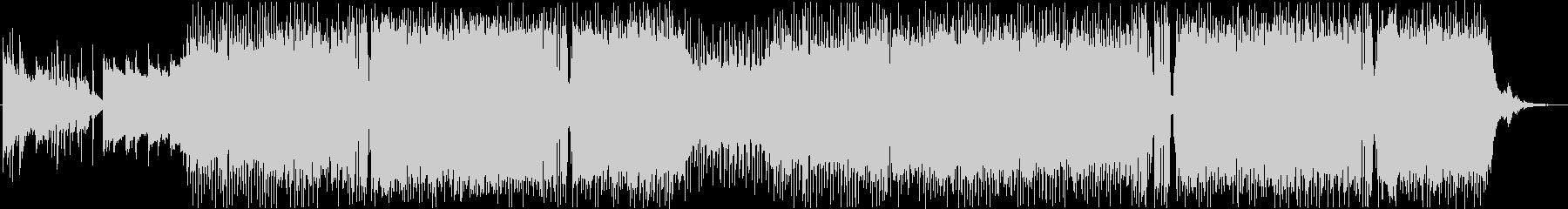 エンディングテーマ切ないアニソンポップスの未再生の波形