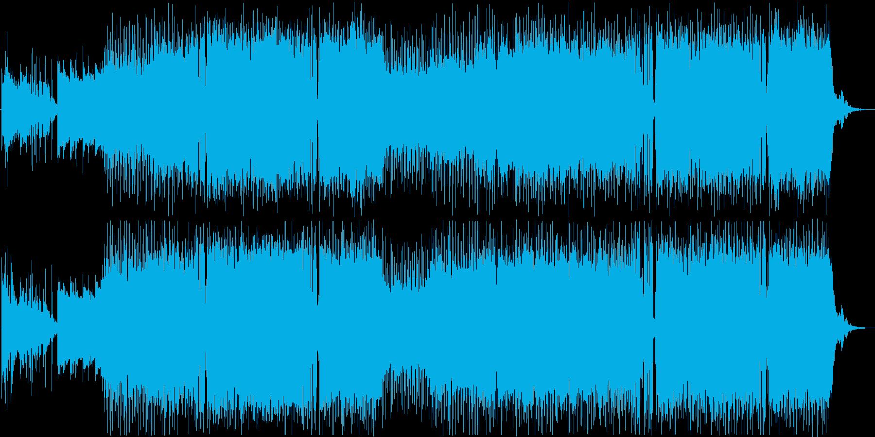 エンディングテーマ切ないアニソンポップスの再生済みの波形