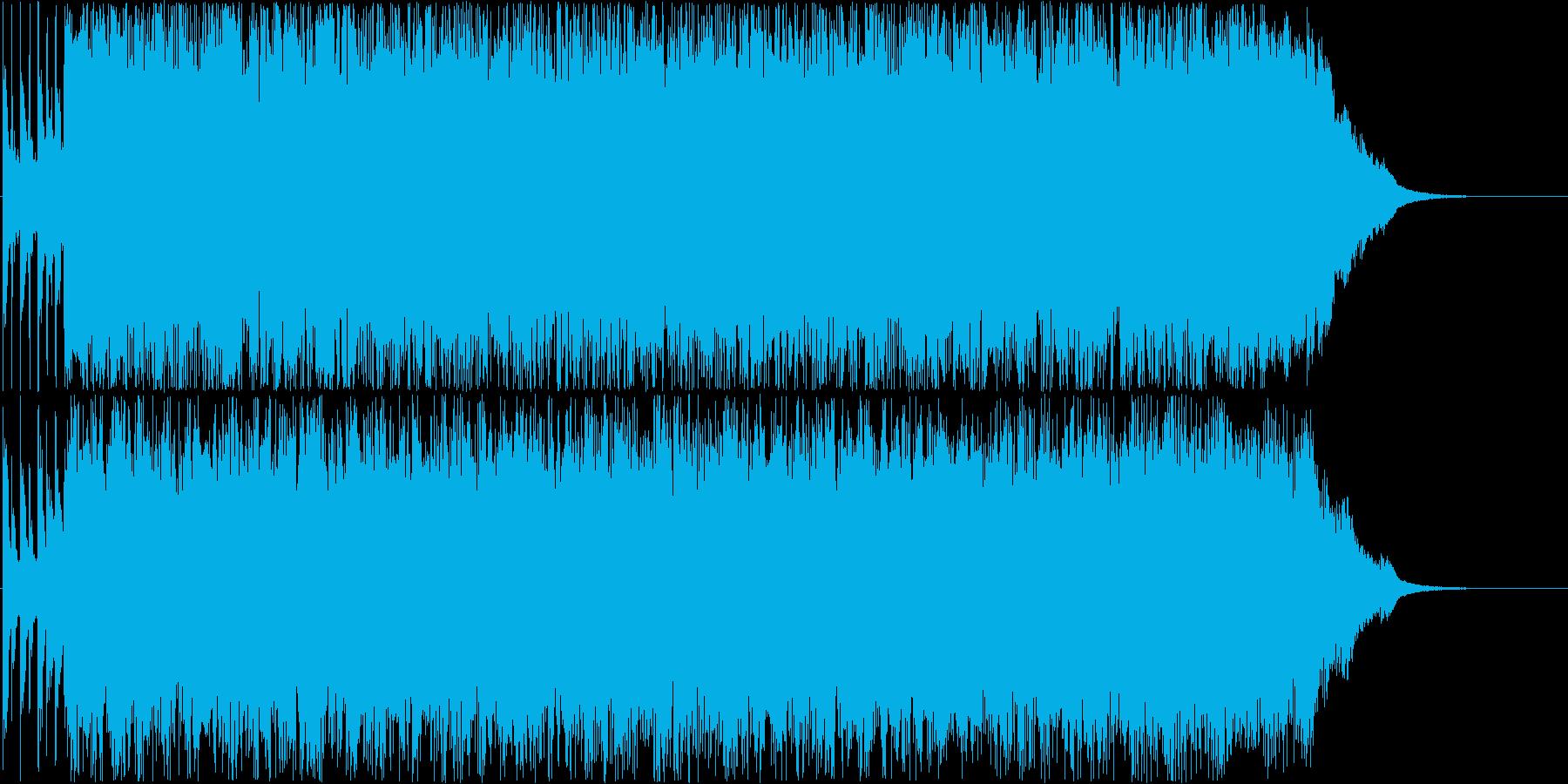 疾走感のあるパンクサウンド。スカVerの再生済みの波形