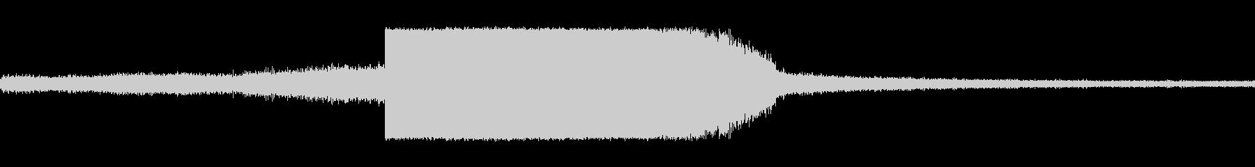 トーチブロー火炎切断の未再生の波形
