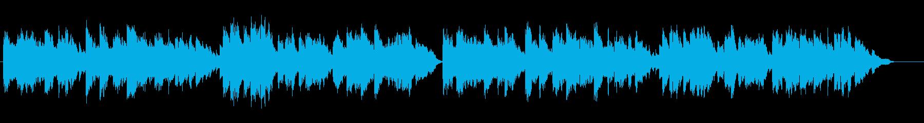 昔を語るような穏やかなクラシック民謡の再生済みの波形