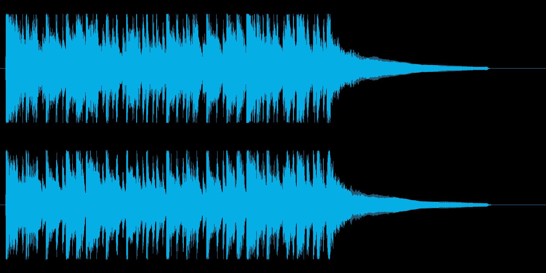 ハッピー!楽しい!カントリーBGMの再生済みの波形