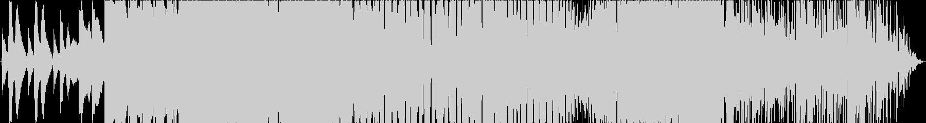 多彩なメロディのピアノ曲の未再生の波形
