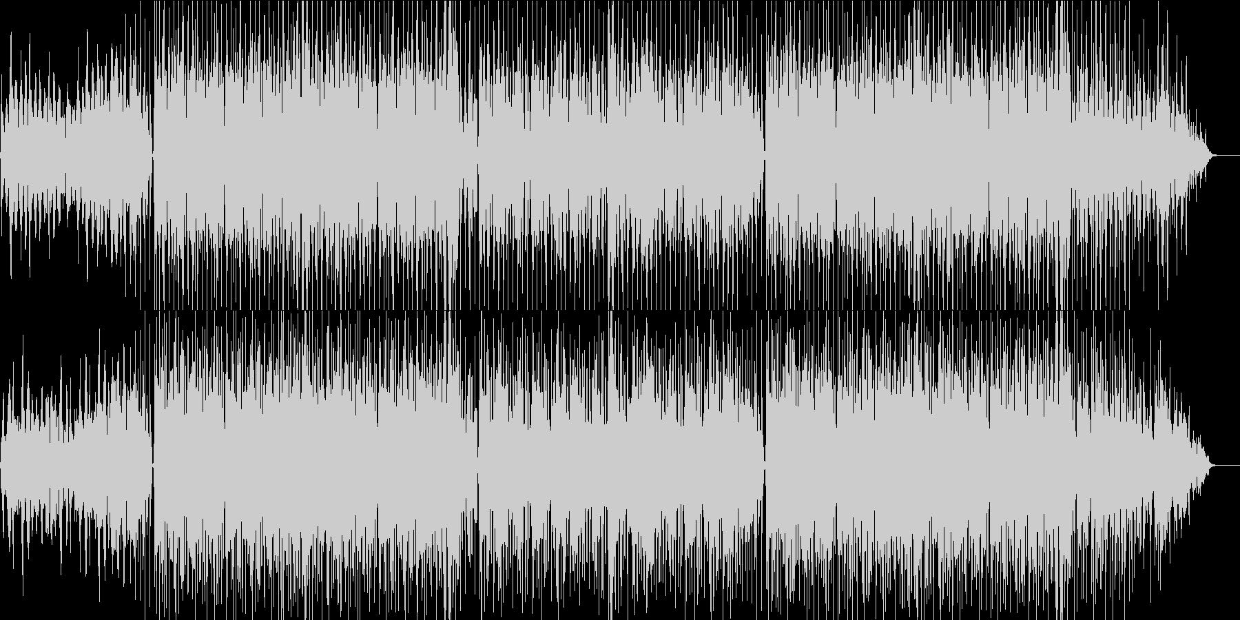 メロウでリラックスできるチルミュージックの未再生の波形