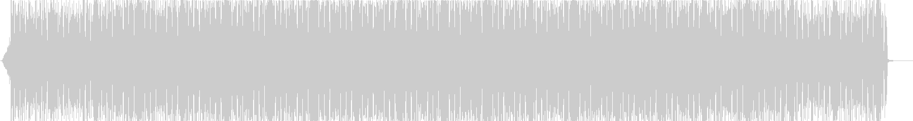 グランジ感溢れるロックビートの未再生の波形