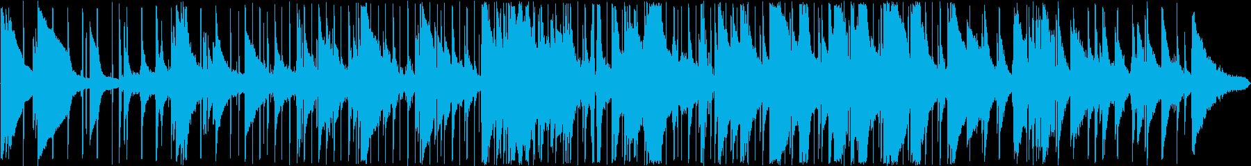 滑らか ジャズ ブルース 感情的 ...の再生済みの波形