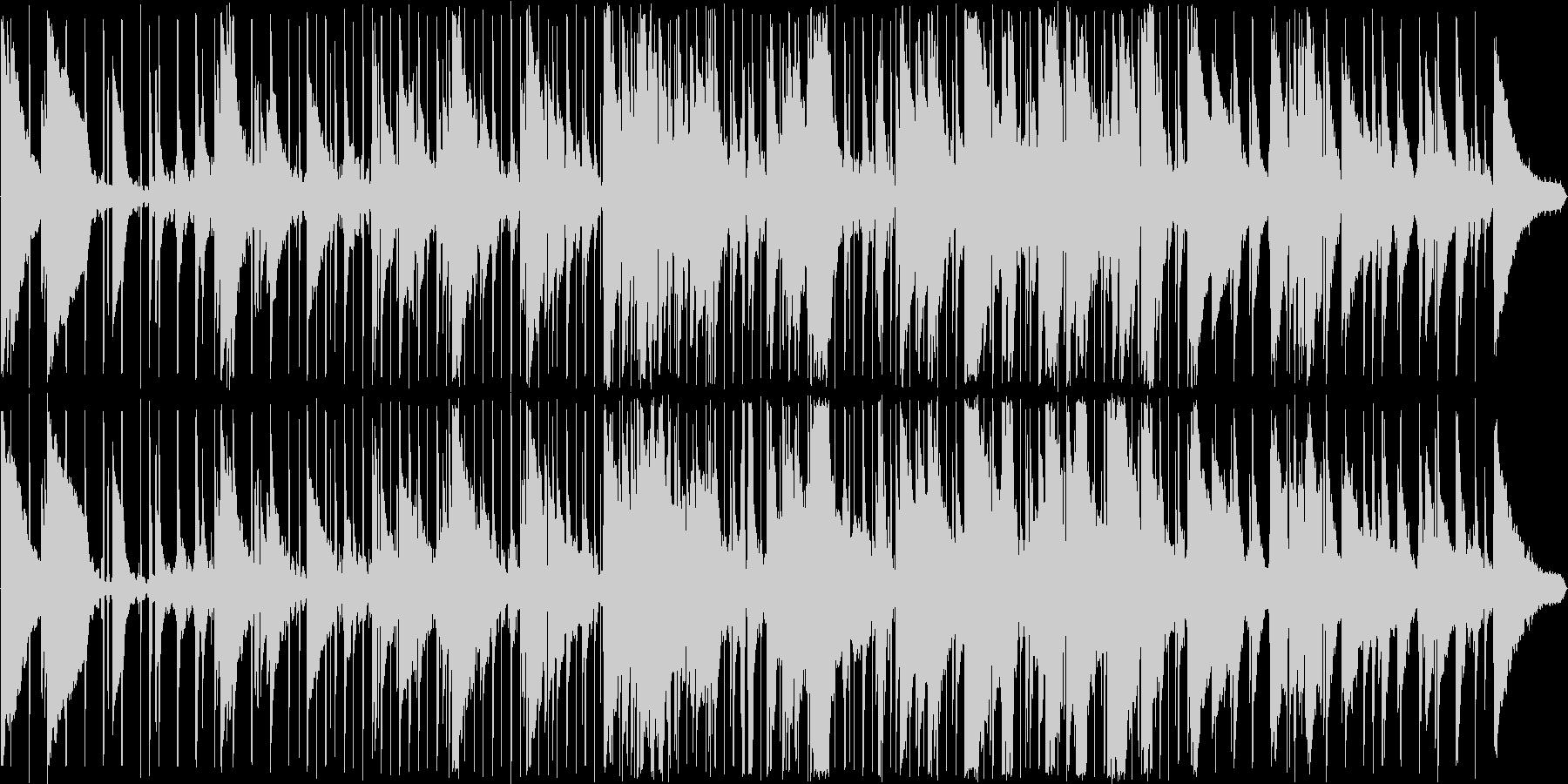滑らか ジャズ ブルース 感情的 ...の未再生の波形