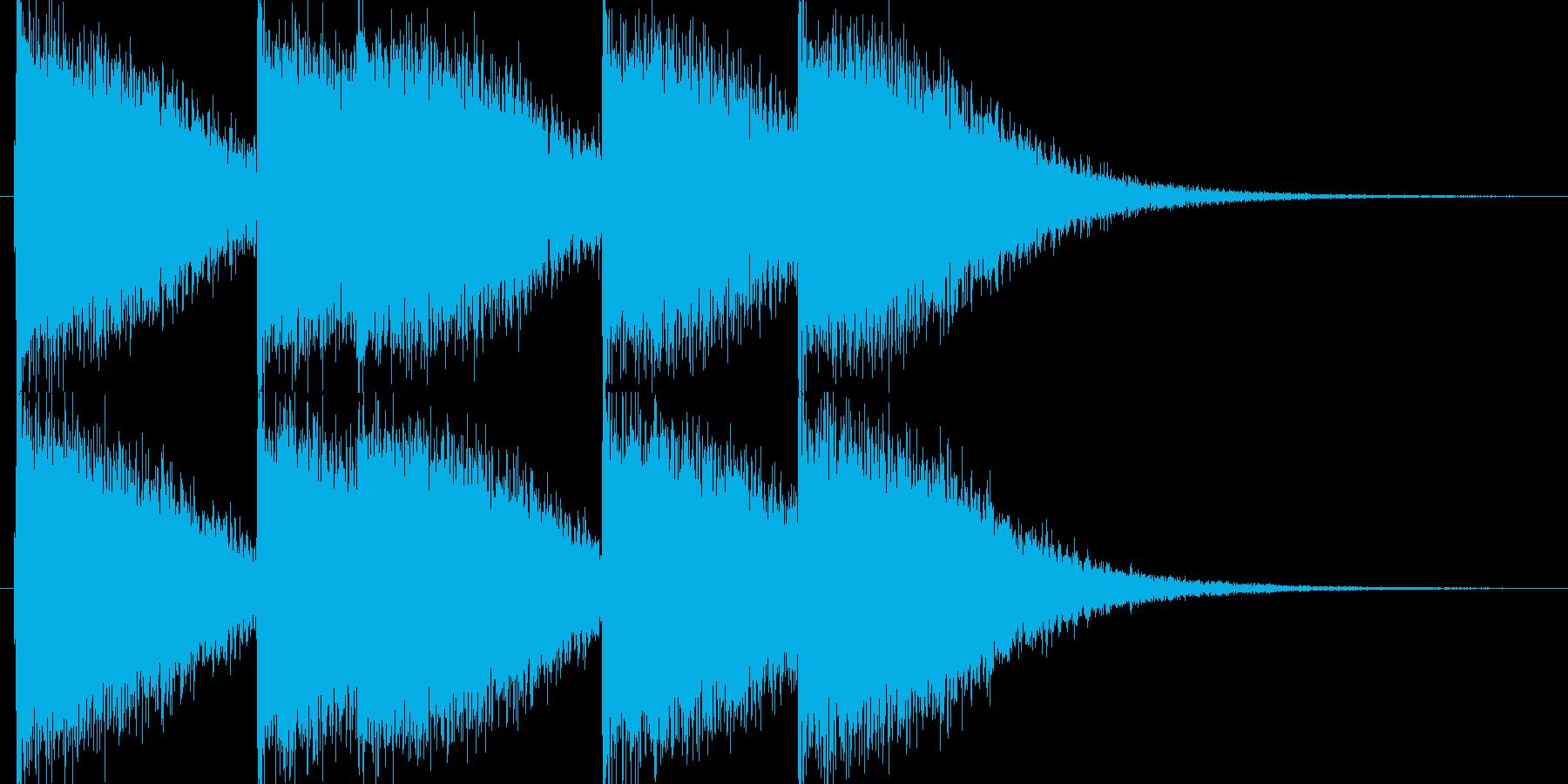 ピューン・ピュン(レーザー銃)の再生済みの波形