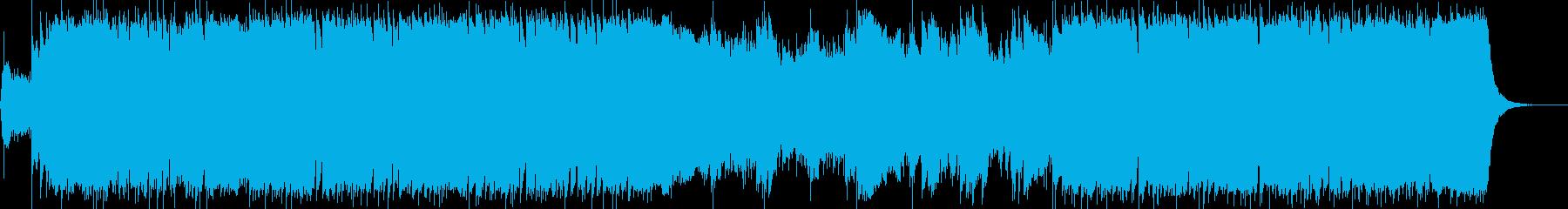 ダークファンタジーオーケストラ戦闘曲73の再生済みの波形