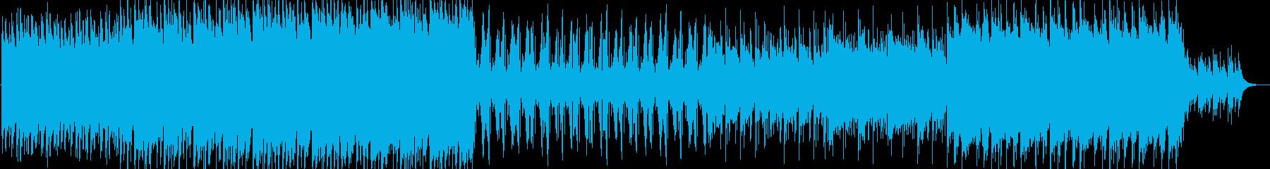 エレクトロニカ/アンビエント/ピアノ/の再生済みの波形