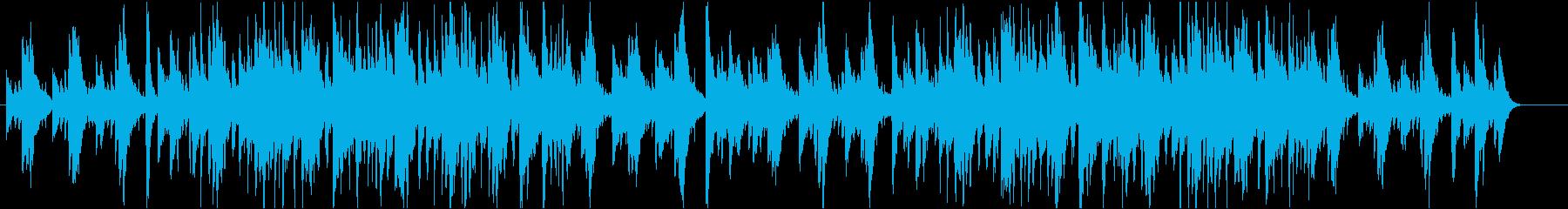 中世ヨーロッパ風BGMの再生済みの波形