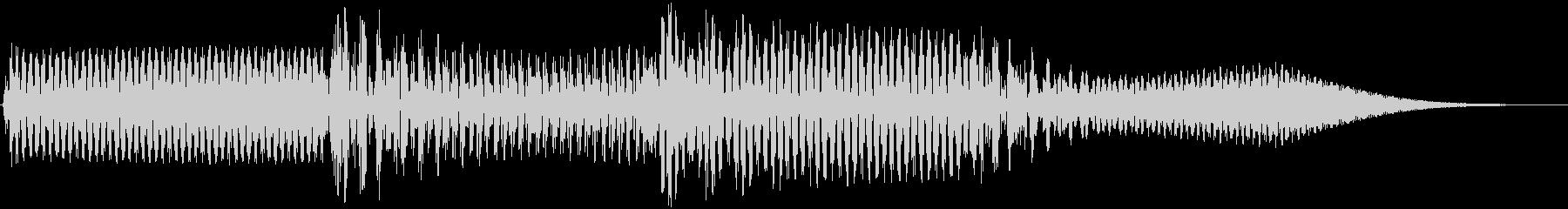 ボタン音(シンセ高音)の未再生の波形