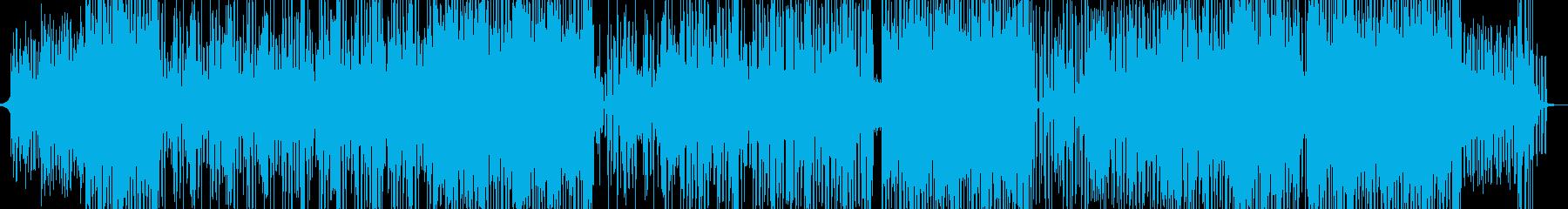 まったりとほろ酔い気分のレゲェ 長尺の再生済みの波形