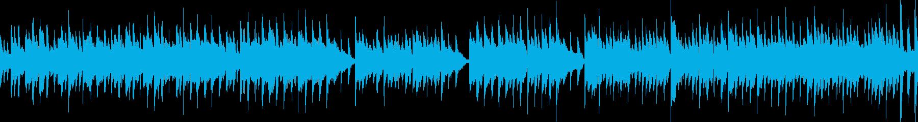 Cartoon ピアノ 角 バンジ...の再生済みの波形