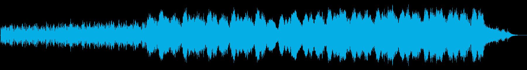 きらびやかなヒーリングミュージックの再生済みの波形