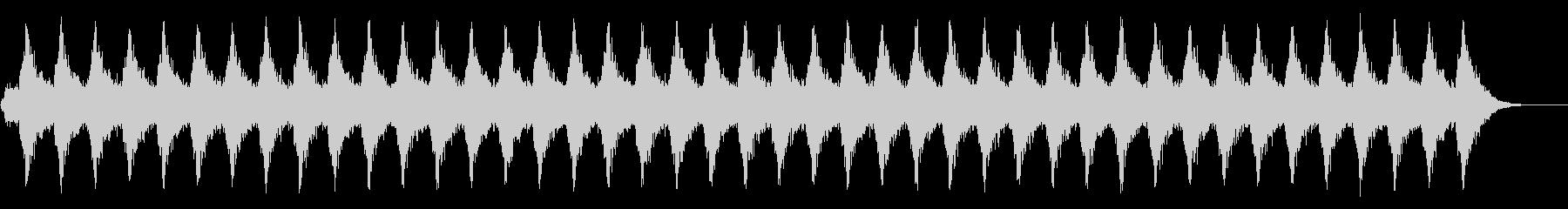 スリリングなシーンにの未再生の波形