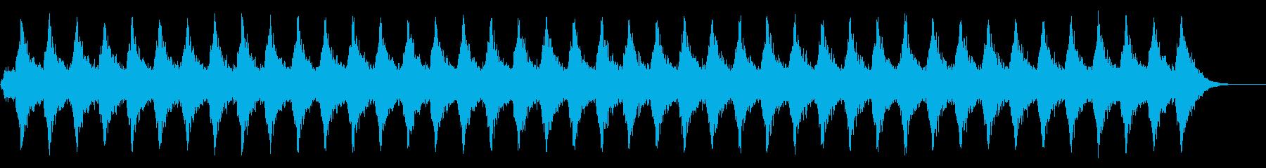 スリリングなシーンにの再生済みの波形