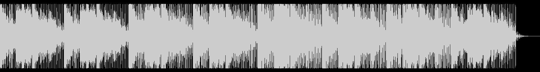 ダークでエスニックなホラーBGMの未再生の波形