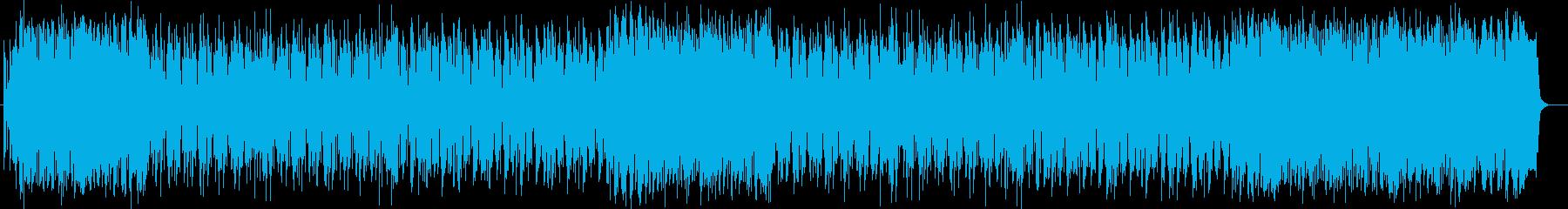 明るく元気なシンセサイザーポップの再生済みの波形