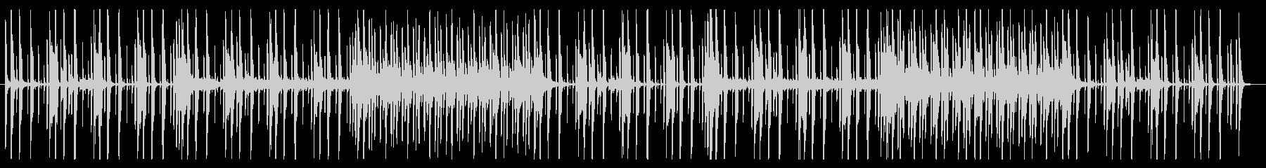 洗練されたミニマルなピアノポップの未再生の波形