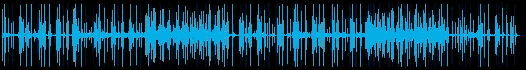 洗練されたミニマルなピアノポップの再生済みの波形