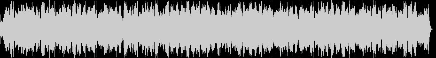 琴、三味線を主に使った優しい曲の未再生の波形