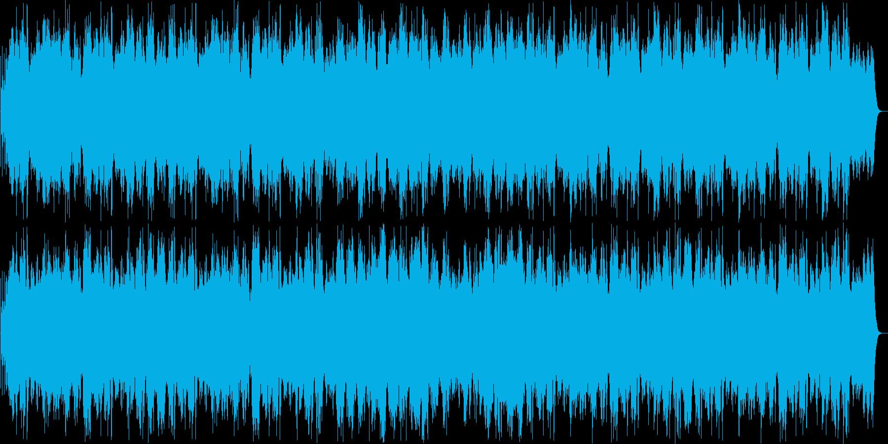 琴、三味線を主に使った優しい曲の再生済みの波形
