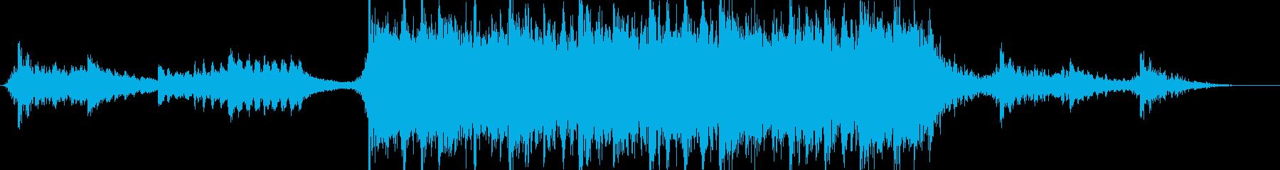 現代の交響曲 広い 壮大 ワイルド...の再生済みの波形