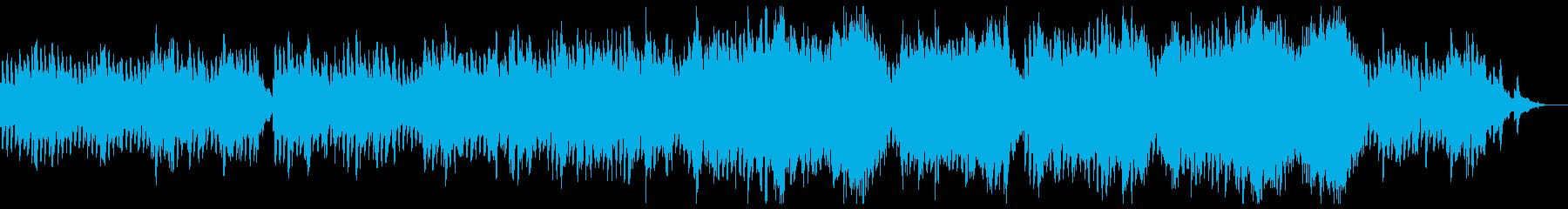 静かな懐かしさの感動的なシネマシンフォ。の再生済みの波形