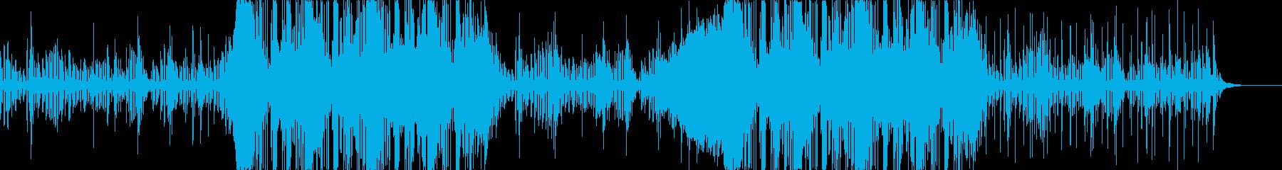 ダウンテンポの怪しげなエレクトロの再生済みの波形