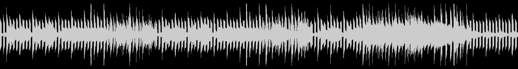 ピコピコした日常系のループBGMの未再生の波形