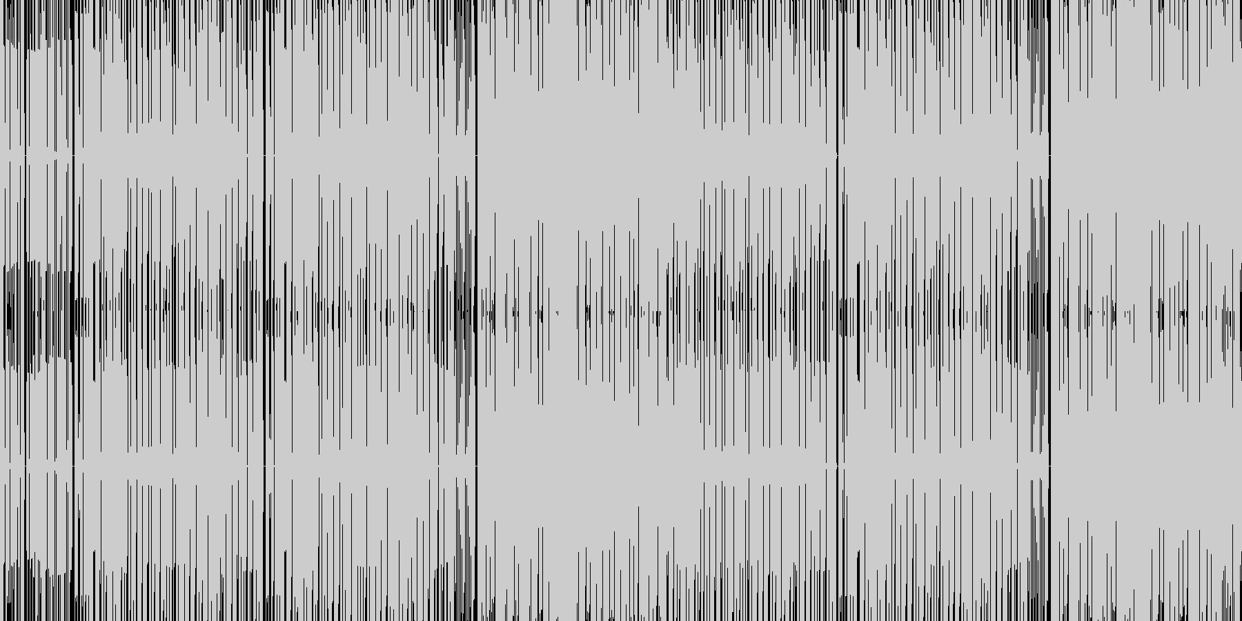 わくわくするチップチューン バラエティーの未再生の波形
