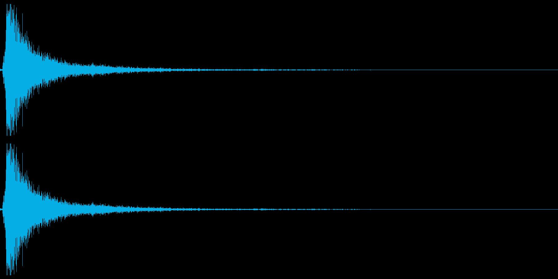 ドアメタルバンガラガラの再生済みの波形