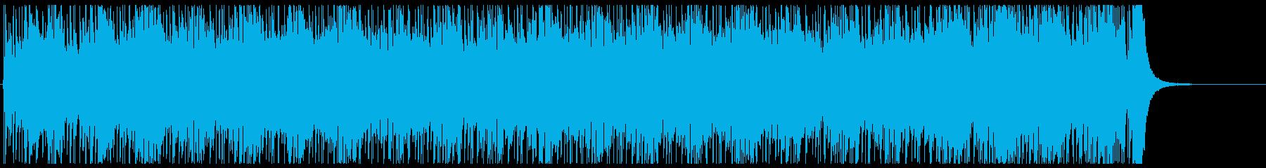 スピード スリル スポーツ 追跡 挑戦の再生済みの波形