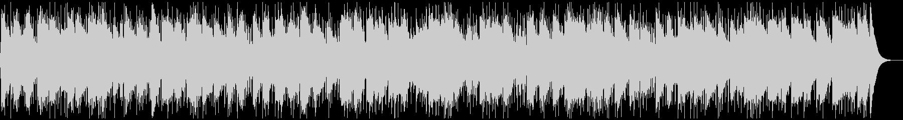 シンプル重厚なハードロックバラードBGMの未再生の波形