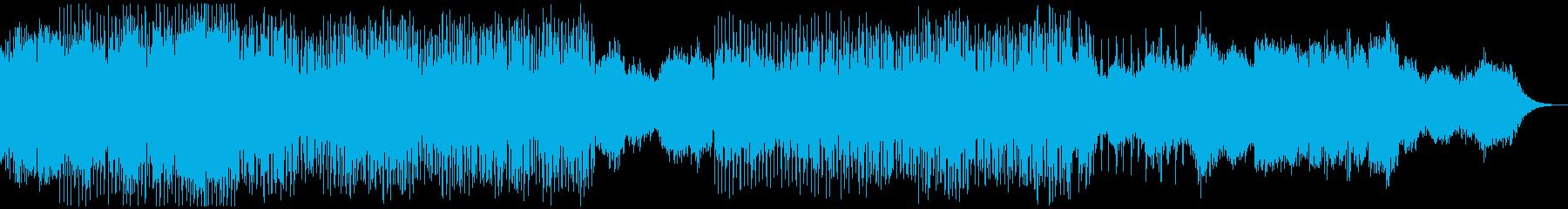 神秘的な雰囲気のアンビエントテクノの再生済みの波形