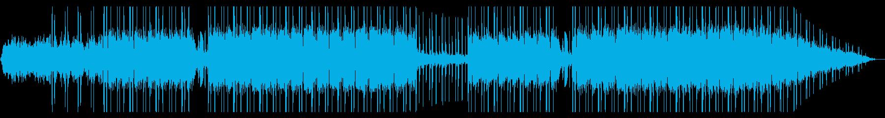 ギター パーカッション メランコリックの再生済みの波形