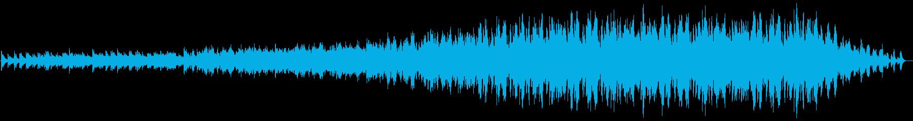 ピアノ5音階5コード5拍子ミニマルの再生済みの波形
