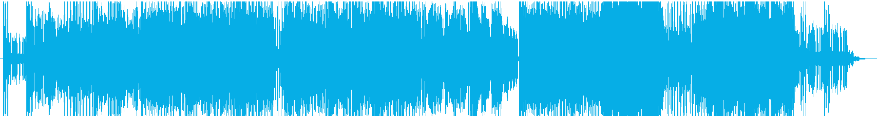 和風トランス_ダンスポップ_三味線&尺八の再生済みの波形