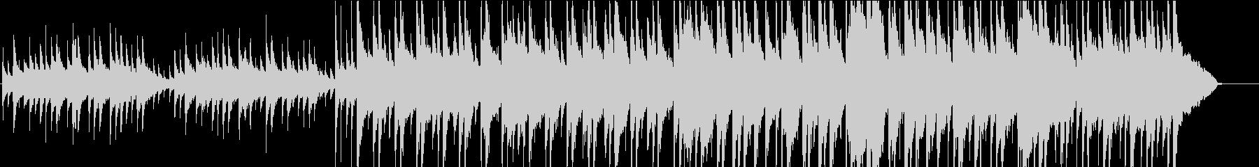 和風で落ち着いたイメージのBGMの未再生の波形